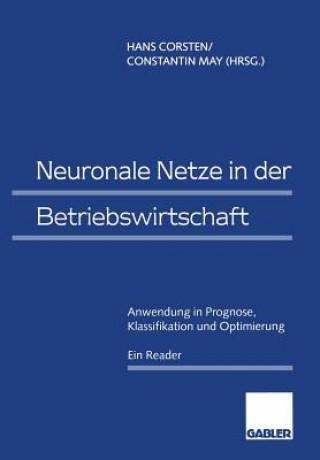 Neuronale Netze in Der Betriebswirtschaft