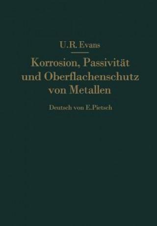 Korrosion, Passivitat Und Oberflachenschutz Von Metallen