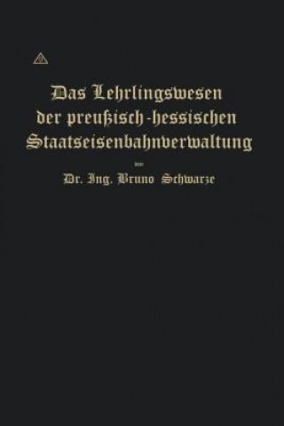Lehrlingswesen Der Preussisch-Hessischen Staatseisenbahnverwaltung Unter Berucksichtigung Der Lehrlingsverhaltnisse in Handwerks- Und Fabrikbetrieben
