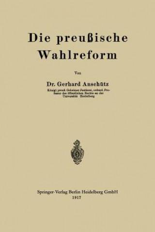 Die Preussische Wahlreform