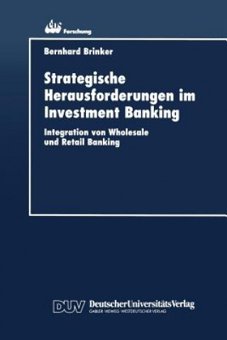 Strategische Herausforderungen Im Investment Banking