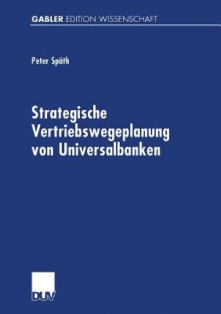 Strategische Vertriebswegeplanung Von Universalbanken