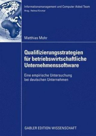 Qualifizierungsstrategien F r Betriebswirtschaftliche Unternehmenssoftware