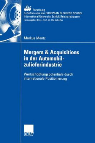 Mergers & Acquisitions in Der Automobilzulieferindustrie