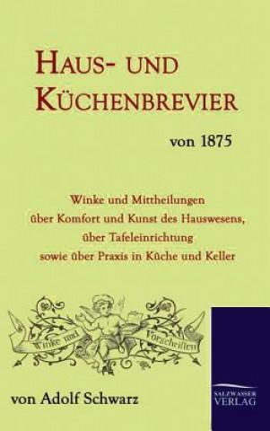 Haus- Und K chenbrevier Von 1875