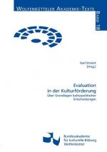 Evaluation in Der Kulturf Rderung