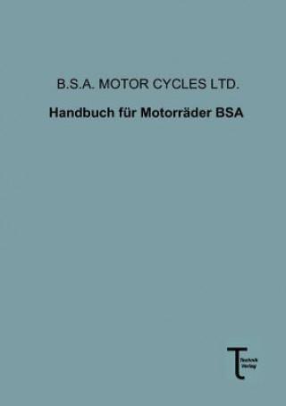 Handbuch Fur Motorrader BSA