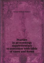 Practice in Proceedings Supplementary to Execution with Table of Cases and Forms