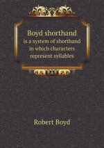 Boyd Shorthand Is a System of Shorthand in Which Characters Represent Syllables