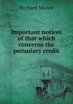 Important Notices of That Which Concerns the Pecuniary Credit