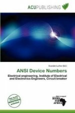 ANSI Device Numbers