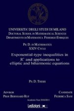 Exponential-Type Inequalities in N and Applications to Elliptic and Biharmonic Equations