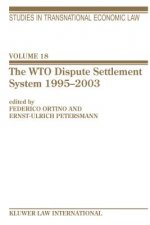 WTO Dispute Settlement System 1995-2003
