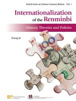 Internationalization of the Renminbi