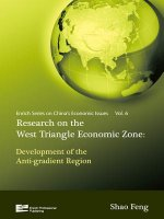 Research on Western Economic Triangular Zone