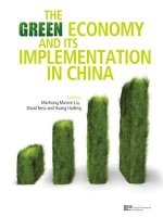 Green Economy and Its Implementation in China