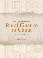 Development of Rural Finance in China