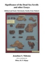 Significance of the Dead Sea Scrolls and Other Essays. Biblical and Early Christianity Studies from Malawi