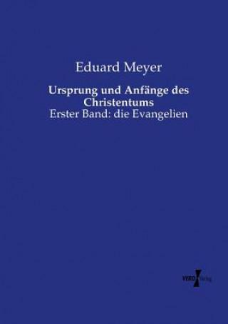 Ursprung und Anfange des Christentums