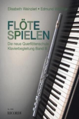 Flöte Spielen, Band B, Klavierbegleitungen