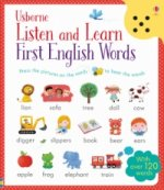 Usborne Listen and Learn First English Words, w. Sound Panel