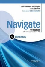 Navigate: Elementary A2: Coursebook with DVD and Online Skills