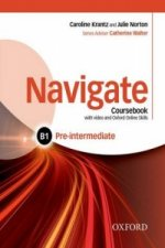 Navigate: Pre-intermediate B1: Coursebook with DVD and Oxford Online Skills Program