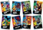 Project X Alien Adventures: Dark Red Book Band, Oxford Levels 17-18: Dark Red Book Band, Mixed Pack of 8