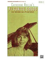 CATHERINE ROLLIN FAVORITE SOLOS BOOK 3