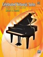 CELEBRATED VIRTUOSIC SOLOS BK 1 PIANO