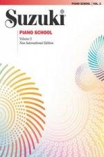 Suzuki Piano School New INT. Ed. Piano Book Vol. 2