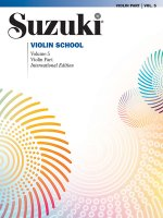 SUZUKI VIOLIN SCHOOL VOL5 REV09 BK ONLY