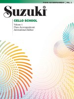 SUZUKI CELLO SCHOOL VOL1 PIANO ACC