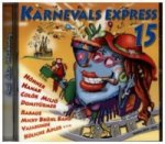 Karnevals-Express, 1 Audio-CD. Vol.15