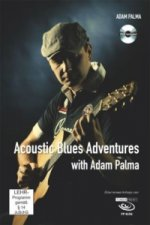 Acoustic Blues Adventures with Adam Palma, m. DVD