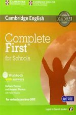 Complete First for Schools for Spanish Speakers Workbook with Answers with Audio CD