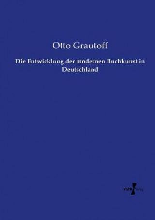 Entwicklung der modernen Buchkunst in Deutschland
