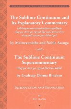 Sublime Continuum Super-Commentary (Theg Pa Chen Po Rgyud Bla Ma'i Tikka) with the Sublime Continuum Treatise Commentary (Mahayanottaratantrasastravya