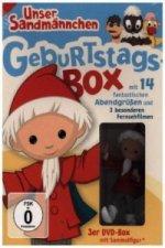 Unser Sandmännchen - Klassiker, Geburtstags-Box, 3 DVDs