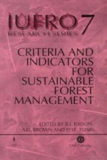 Criteria and Indicators for Sustainable Forest Management