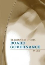 Elements of Effective Board Governance