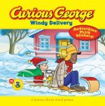 Curious George Windy Delivery (CGTV 8x8 w/stickers)