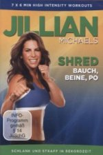 Jillian Michaels - Shred - Bauch, Beine, Po, 1 DVD