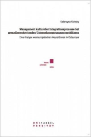 Mangement kultureller Integrationsprozesse bei grenzüberschreitenden Unternehmenszusammenschlüssen