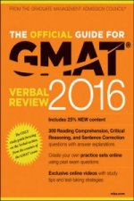 Official Guide for GMAT Verbal Review 2016 with Online Question Bank and Exclusive Video