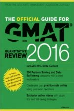 Official Guide for GMAT Quantitative Review 2016 with Online Question Bank and Exclusive Video