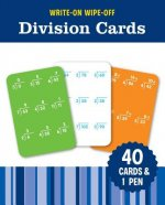 WRITEON WIPEOFF DIVISION CARDS