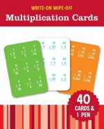 WRITEON WIPEOFF MULTIPLICATION CARDS