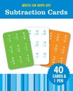 WRITEON WIPEOFF SUBTRACTION CARDS