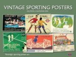 VINTAGE SPORTING POSTERS